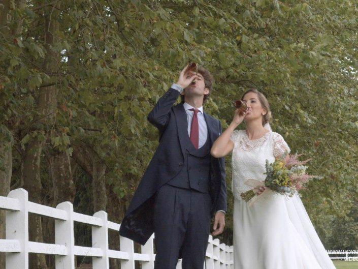 Marina y Nacho: Boda en Castañeda